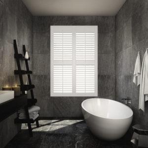 Hampton Bathroom Shutters